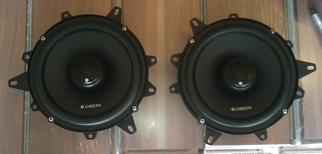 Orion XTR 652 speakers